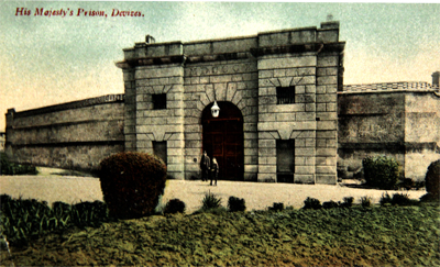 Prison Entrance ca 1910 Courtesy WSHC