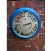 Rarity 1930s Flying Standard Cars Dealership Clock Sign (with illuminated rolling face and clock working order) available