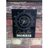 "1950s Morris Cars Perspex Clock ""Quality First"" available"