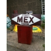 1920s Motor Mex Spirit Enamel Porcelain Sign (restored) available