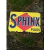 1930s Sphinx Spark Plugs Enamel Sign available