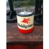 SOLD 1950s Mobilgrease 1lb Tin Can