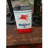 SOLD 1950s Mobiloil Tin Can BB SAE50 Oil Size One Pint