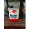 SOLD 1950s Mobiloil Shock Absorber Light Oil Can Size One Pint