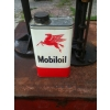 SOLD 1950s Mobiloil Motor Oil One Quart Size Tin Can