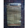 1946 Mobiloil Lubrication Garage Chart Sign (damaged) available