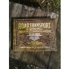1940s road Transport Insurance Metal Showcard Sign available