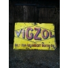 1930s Vigzol Oil Enamel Sign available