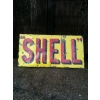 1920s-30s Shell enamel Sign available