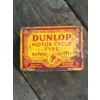 1920s Dunlop Motor Cycle Tyre Repair Outfit Tin available
