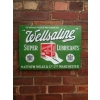 Rarity 1910s Wellsaline Motor Oil Enamel Sign available