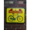 1950s The Raleigh Bicycle Enamel Porcelain Sign available