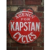 1910s Kapstan Cycles Enamel Sign available