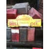 1920s Shell Double Motor Oil Enamel Sign available
