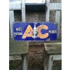 1930s AC Spark Plugs Enamel porcelain Sign available