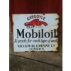 1930s Mobiloil Enamel Sign available
