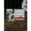 Rarity 1920s Goodrich Tyre Enamel Sign Bentley Car available