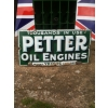 1920s Petter Oil Engines Enamel Sign available
