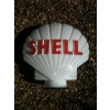 SOLD 1970s Shell Petrol Pump Globe