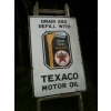1930s British Enamel Porcelain Texaco Gas Petrol Sign available