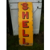 1930s Shell Enamel Porcelain Sign Gas Station available