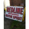 1920s Redline Motor Spirit  rare 6x4 feet Size available