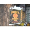Scarce 1930s Shell Motor Oil Enamel Porcelain Diecut Sign (double sided) available