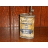 1910s Excelene Lubricating Oil Tin Can Oval Shaped (reverse more faded) available