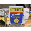 1960s Hutchinson Cycle Enamel Sign Tyres Velo Pneus Plaque Ancienne Emaillee available