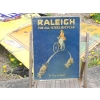 Rarity 1920s Raleigh Cycle Lithographically Printed Tinplate Metal Sign available