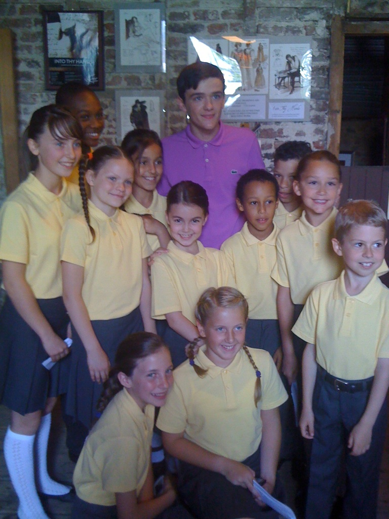 Pictured above are MBA Dance's students with George Sampson on the