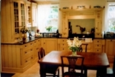Breakfasts cooked in the kitchen AGA. Breakfast is served to the table in the old coach room where guests enjoy views across pretty gardens, courtyard and sun terrace