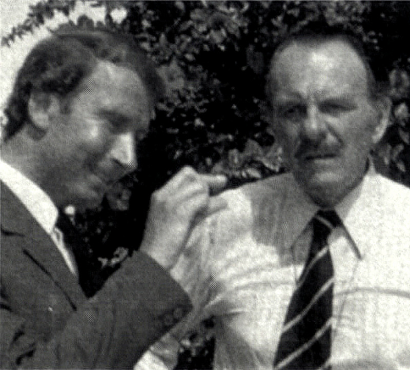 Terry with Graham Armitage