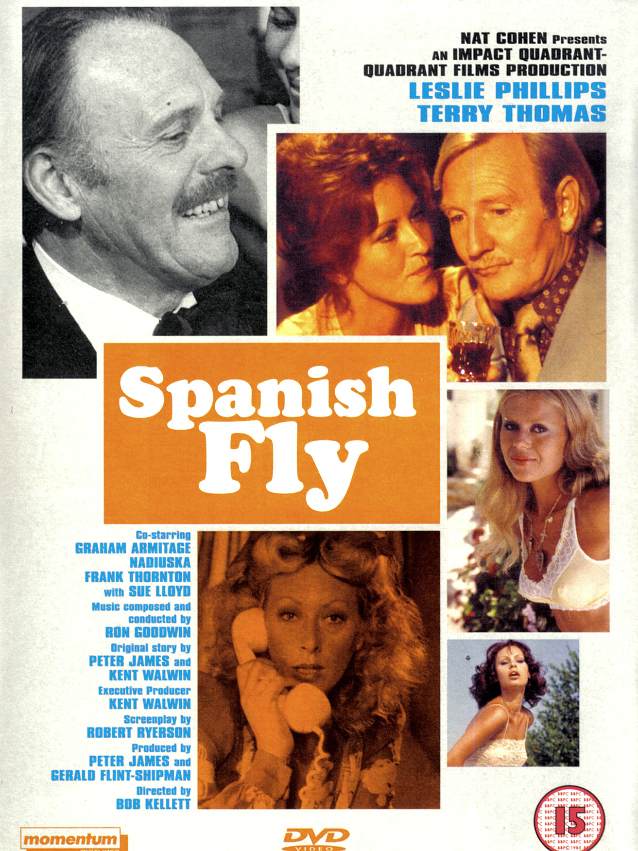 Spanish Fly DVD