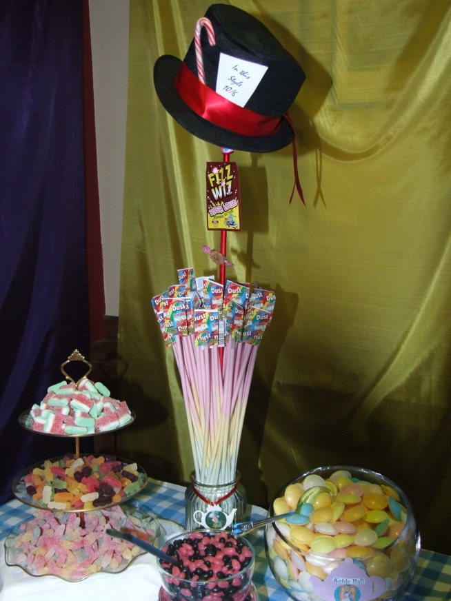 Candy buffet Oxford, Mad Hatter's Tea Party