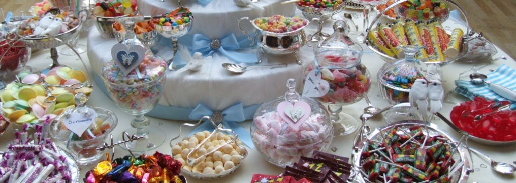 sweets and candy buffet table coventry, birmingham, leamington spa, northampton, bedford, stamford, peterborough, oakham, leicester, derby, solihull, corby, warwick, startford-on-avon, rugby, nottingham