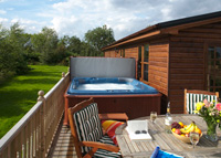 Unwind in the Hot Tub!