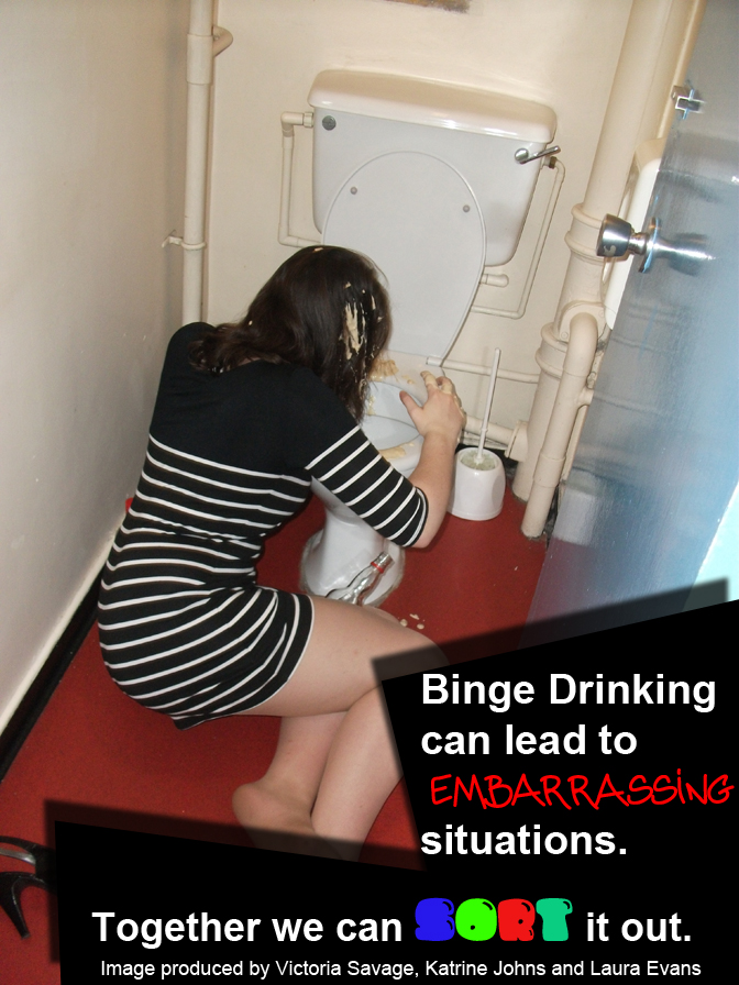 Celebrity Image Gallery Binge Drinking Posters