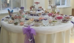 Wedding Sweets buffet table at Blenheim Palace