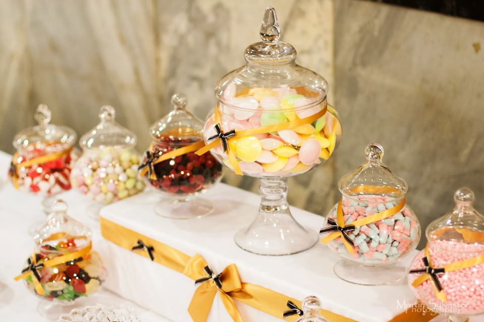 candy buffet Nottingham with 24 varieties chosen