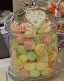 wedding sweets buffet -cheaper than one welcome drink per guest