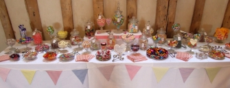 12' Wedding Sweets buffet with 25 varieties for 100 guests