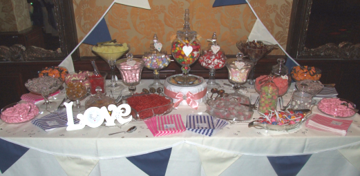 Sweets and candy buffet barnsley, chesterfield, sheffield, doncaster, derby, nottingham, rutland, grantham