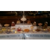 Close-up of previous image showing centre of sweets buffet table.