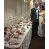 Wedding sweets and candy buffet table  Sheffield with 20 choices of sweets and chocolates. At Aston Hall, Sheffield