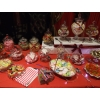 Sweets and candy buffet table Northampton. Just a small portion of the 12' long table