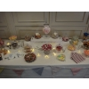 Centre of sweets and candy table in previous image.