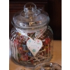 Sweet table Worksop. Candy buffet jar tags