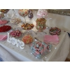 Candy buffet Chesterfield, corner of table with 20 varieties