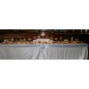 Sweets and candy buffet Luton. 20 varieties Birthday party sweets table 12' long for 100 guests.